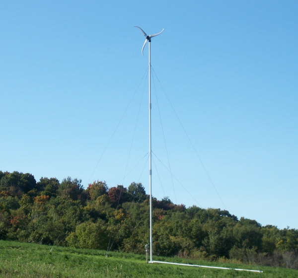 green energy-wind turbine