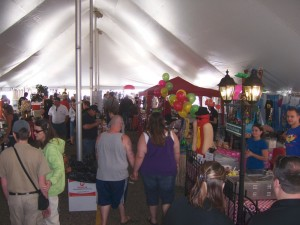Taste of WI Dells-Food-Tent
