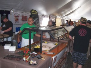 Taste of WI Dells-Oysters