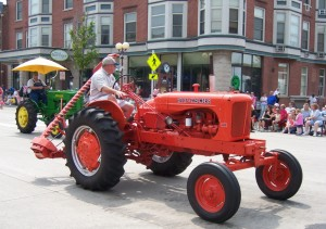 Wisconsin Events-Reedsburg-Butter-Festival-Parade-Tractor